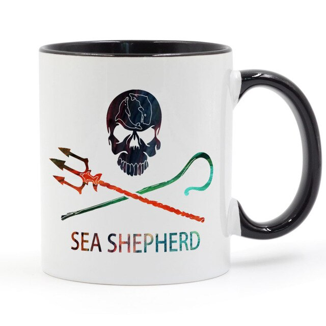 Kaffekopp Sea Shepherd
