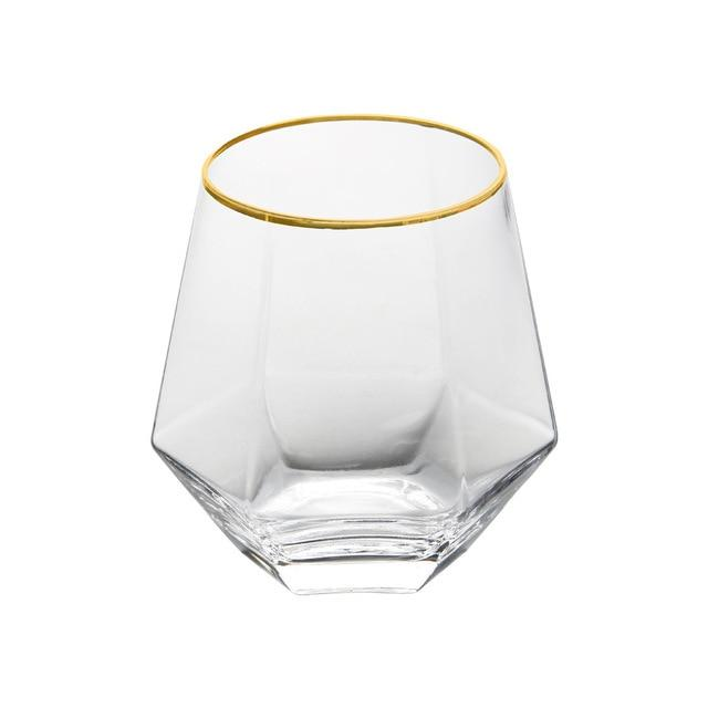 Coola Drinkglas Hexagon
