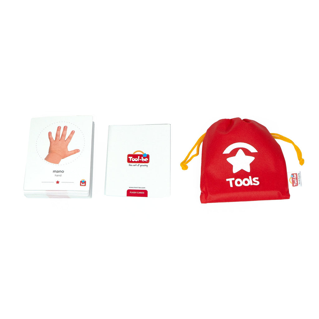 Flash Cards Mi Cuerpo - Tool-be