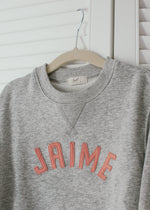 Load image into Gallery viewer, Kids Name Sweatshirt - Curved