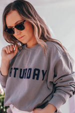 Load image into Gallery viewer, Saturday Sweatshirt