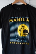 Load image into Gallery viewer, Vintage Tee : Manilla Graphic Tee