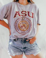 Load image into Gallery viewer, Vintage Tee : ASU Grey Tee Shirt