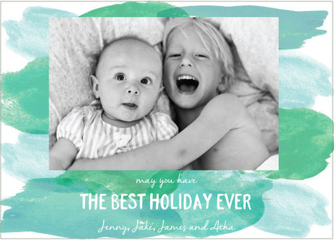 best holiday ever watercolor