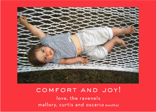 comfort and joy red - tina j studio  - 1