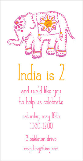 india elephant birthday - tina j studio  - 1