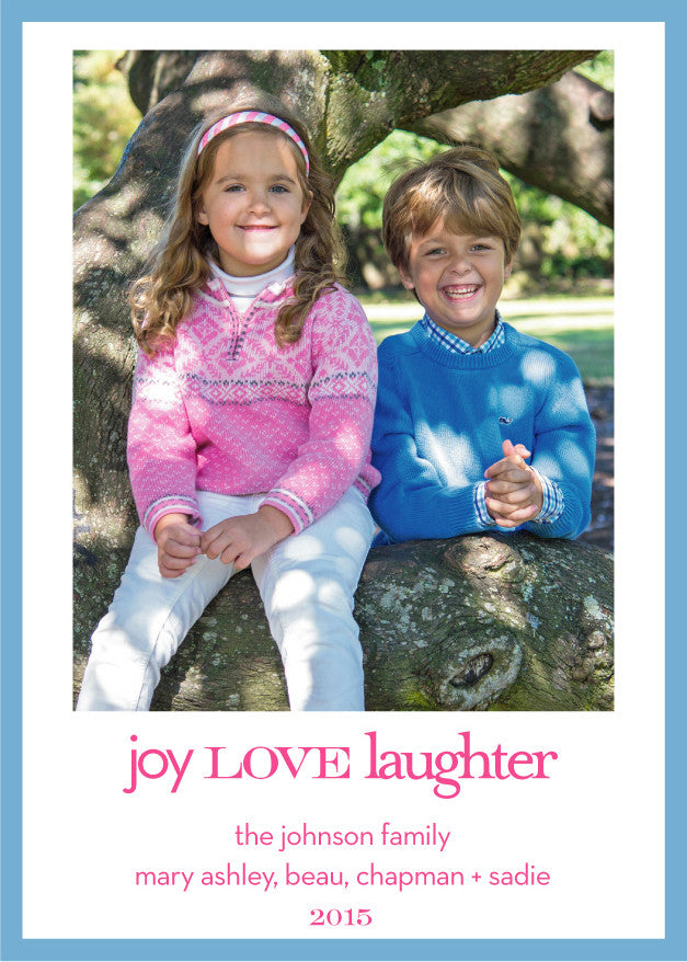 joy love laughter