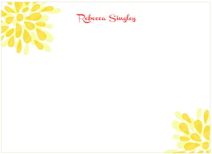 lino yellow - tina j studio  - 1