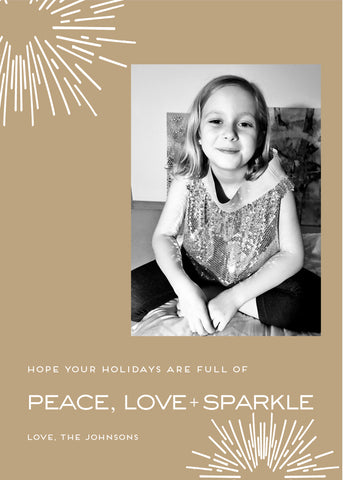 peace love sparkle