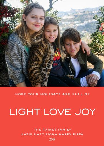 light love joy