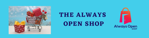 The Always Open Shop Holiday sale