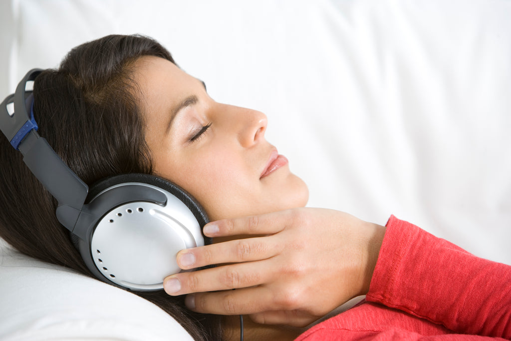 "Get to sleep faster with ""Relax"" guided meditations"