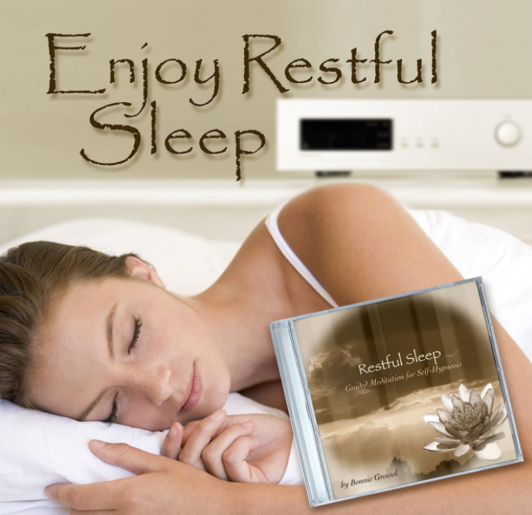 Restful Sleep guided meditation CD by Bonnie Groessl