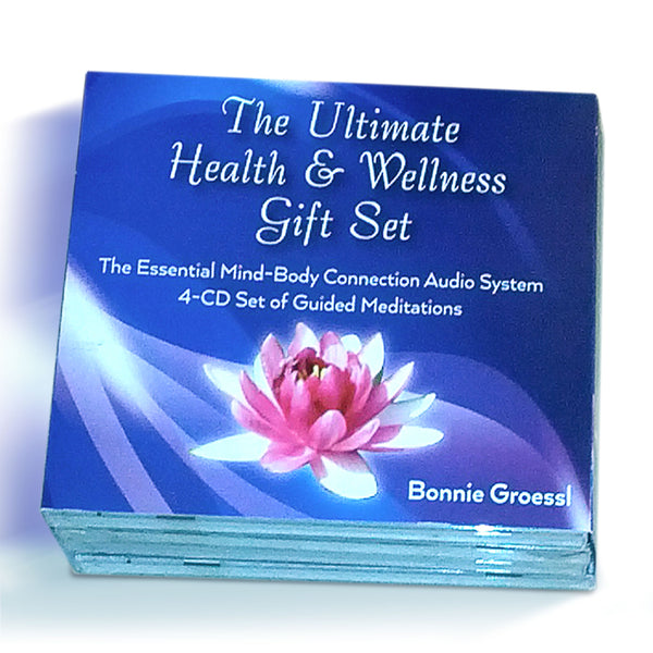 Premium 4-CD Set of Guided Meditations for Better Sleep, Manage Stress, Relax and Lose Weight