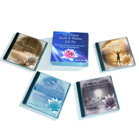 The Ultimate Health and Wellness CD Gift set by Bonnie Groessl
