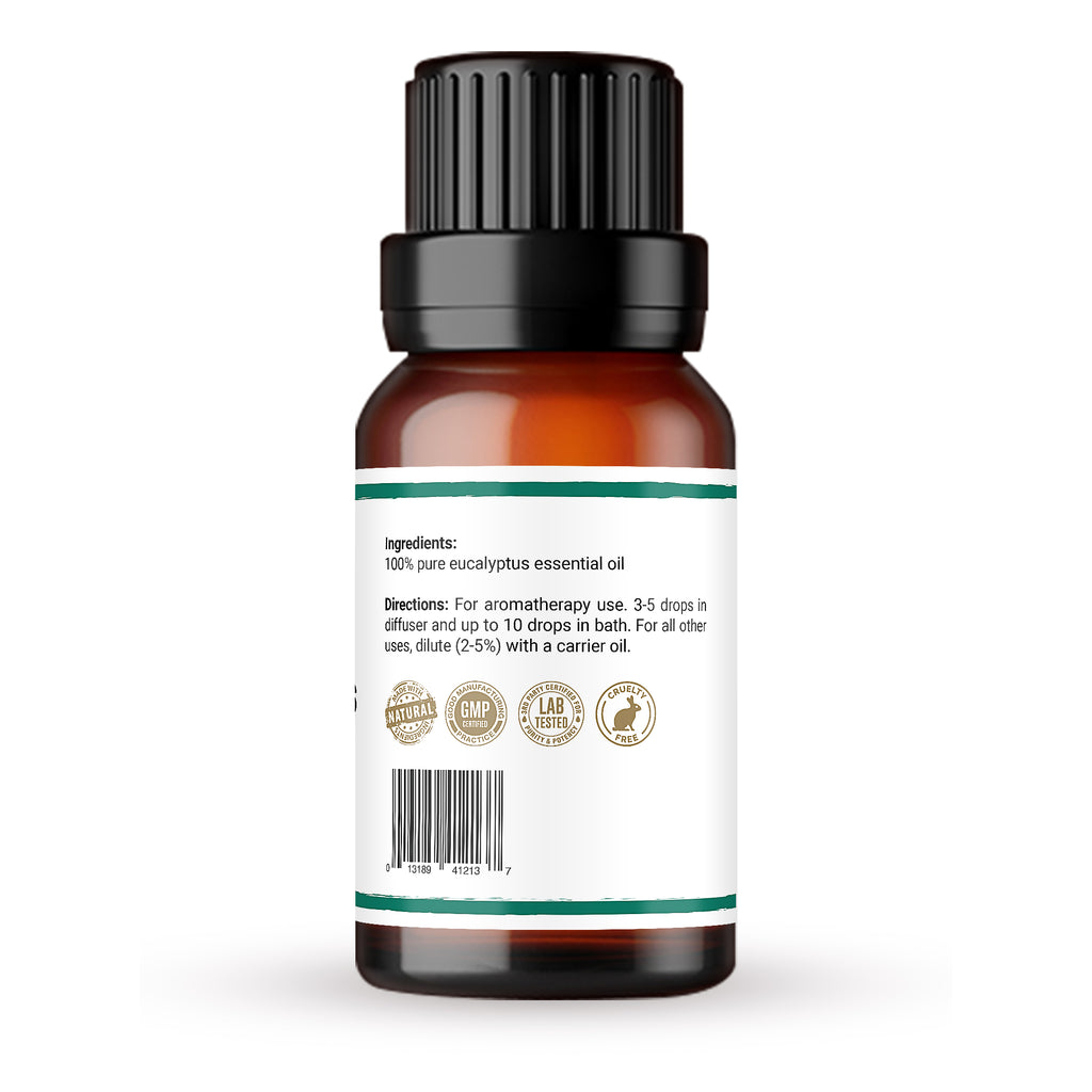 Premium 100% pure eucalyptus essential oil