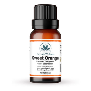 Premium 100% pure sweet orange essential oil