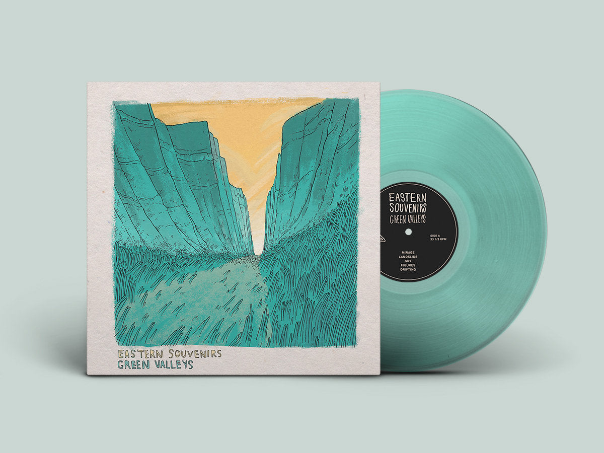 Eastern Souvenirs Green Valleys Limited LP in Teal Vinyl