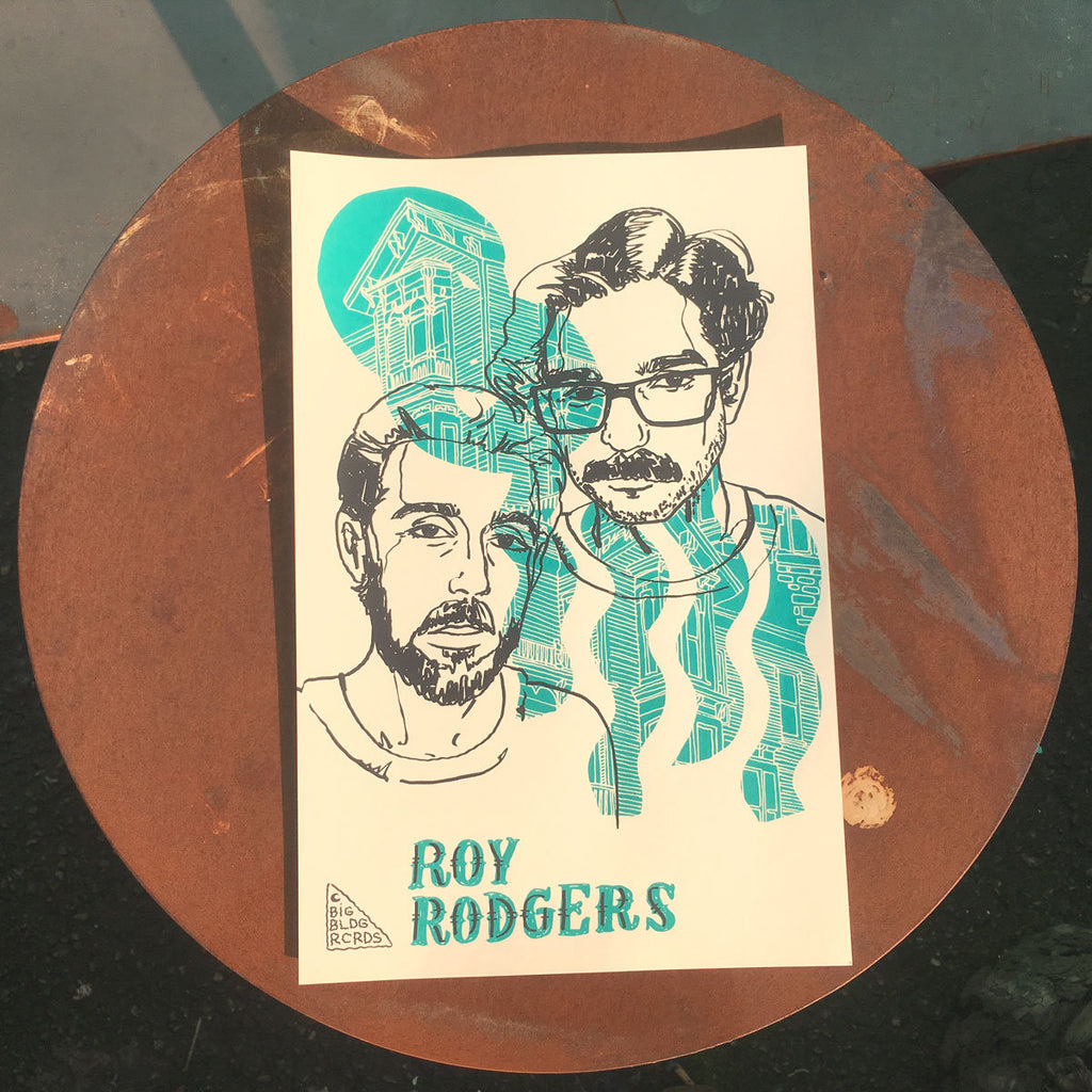 Roy Rodgers Double Vision Poster