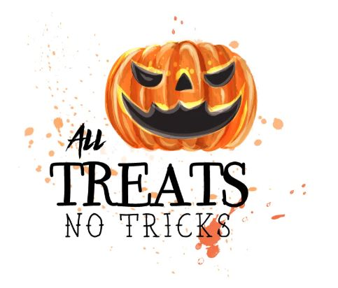 All Treats, No Tricks! Halloween 2020