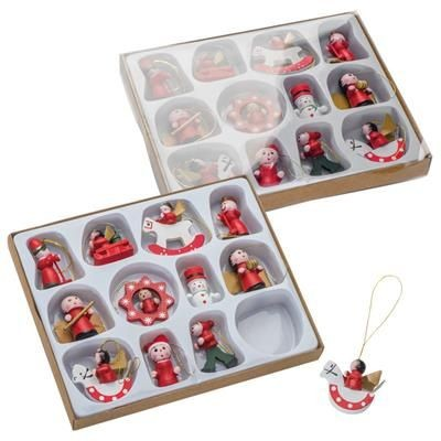 12-PIECES CHRISTMAS TREE DECORATION