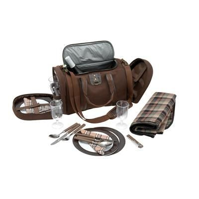 4 PICKNICK FOUR PERSON PICNIC BAG in Brown