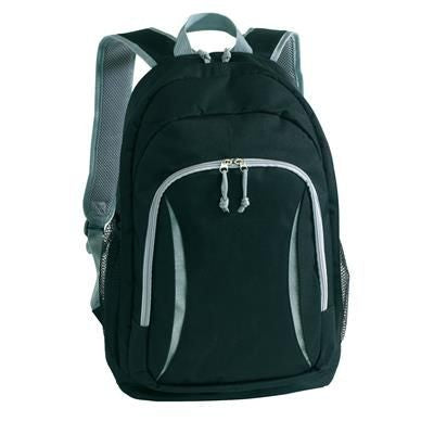 AFRICA BACKPACK RUCKSACK in Black & Grey