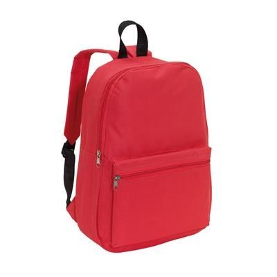 CHAP BACKPACK RUCKSACK in Red