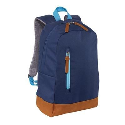 300D FUN BACKPACK RUCKSACK in Dark Blue