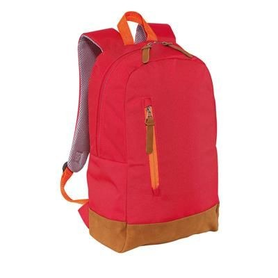 300D FUN BACKPACK RUCKSACK in Red