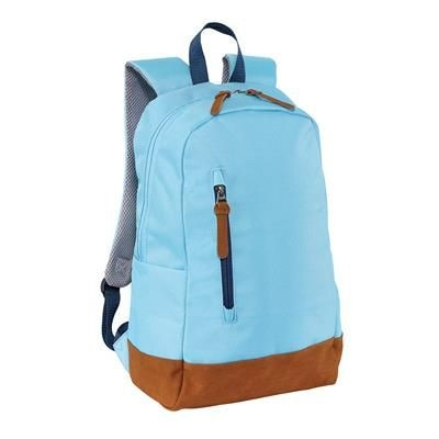 300D FUN BACKPACK RUCKSACK in Light Blue