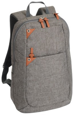 ABERDEEN BACKPACK RUCKSACK With Brown & Grey Trim