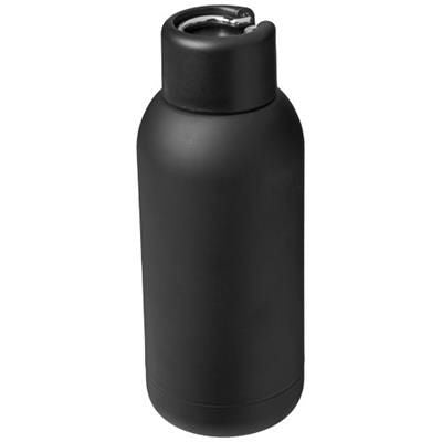 BREA 375 ML VACUUM THERMAL INSULATED SPORTS BOTTLE in Black Solid