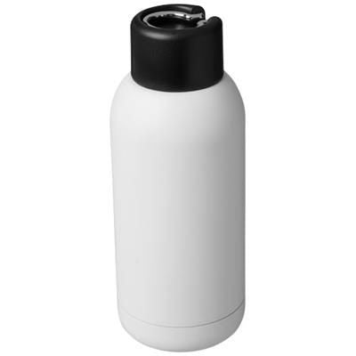 BREA 375 ML VACUUM THERMAL INSULATED SPORTS BOTTLE in White Solid