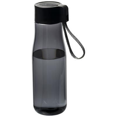 ARA 640 ML TRITAN SPORTS BOTTLE with Charger Cable in Smoked
