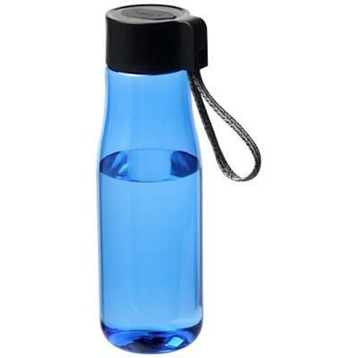 ARA 640 ML TRITAN SPORTS BOTTLE with Charger Cable in Blue