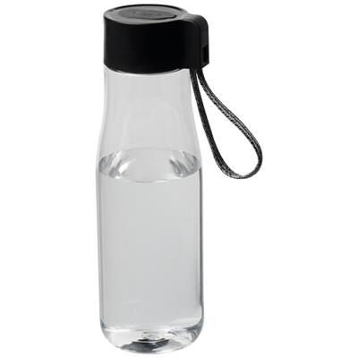 ARA 640 ML TRITAN SPORTS BOTTLE with Charger Cable in Transparent Clear Transparent