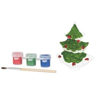 PAINT CHRISTMAS TREE in White Solid