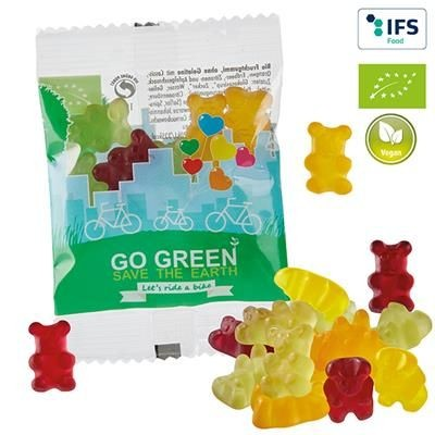 VEGAN ORGANIC FRUIT GUM BEARS