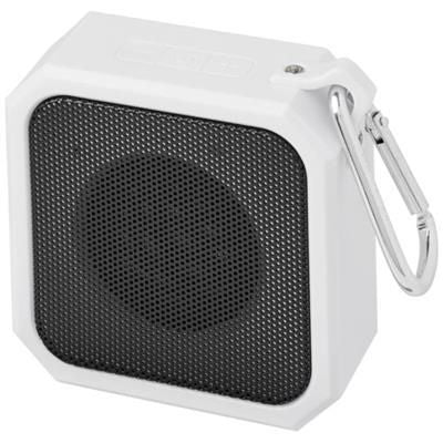 BLACKWATER OUTDOOR BLUETOOTH® SPEAKER in White Solid