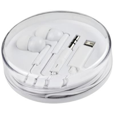 SWITCH EARBUDS with Multi Tips in White Solid