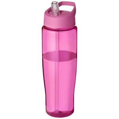 H2O TEMPO 700 ML SPOUT LID SPORTS BOTTLE in Pink