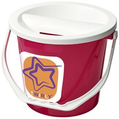 UDAR CHARITY COLLECTION BUCKET in Pink