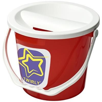 UDAR CHARITY COLLECTION BUCKET in Red