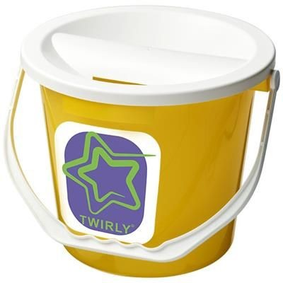 UDAR CHARITY COLLECTION BUCKET in Yellow
