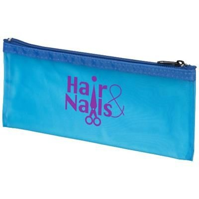 FABIEN FROST PENCIL CASE in Transparent-blue