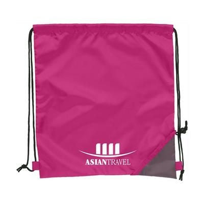 FOLDING PROMOBAG BACKPACK RUCKSACK in Magenta