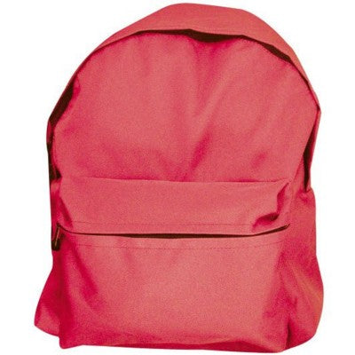 CADIZ TRENDY BACKPACK RUCKSACK in Red