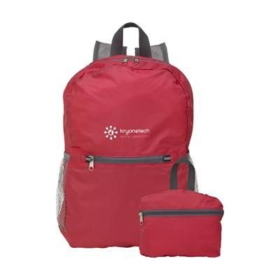BACKPACK RUCKSACK GOCOMFORT in Red