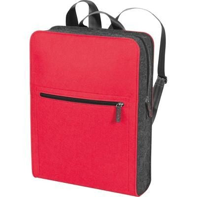 BACKPACK RUCKSACK in Red